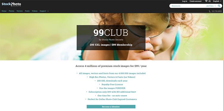 99 club home